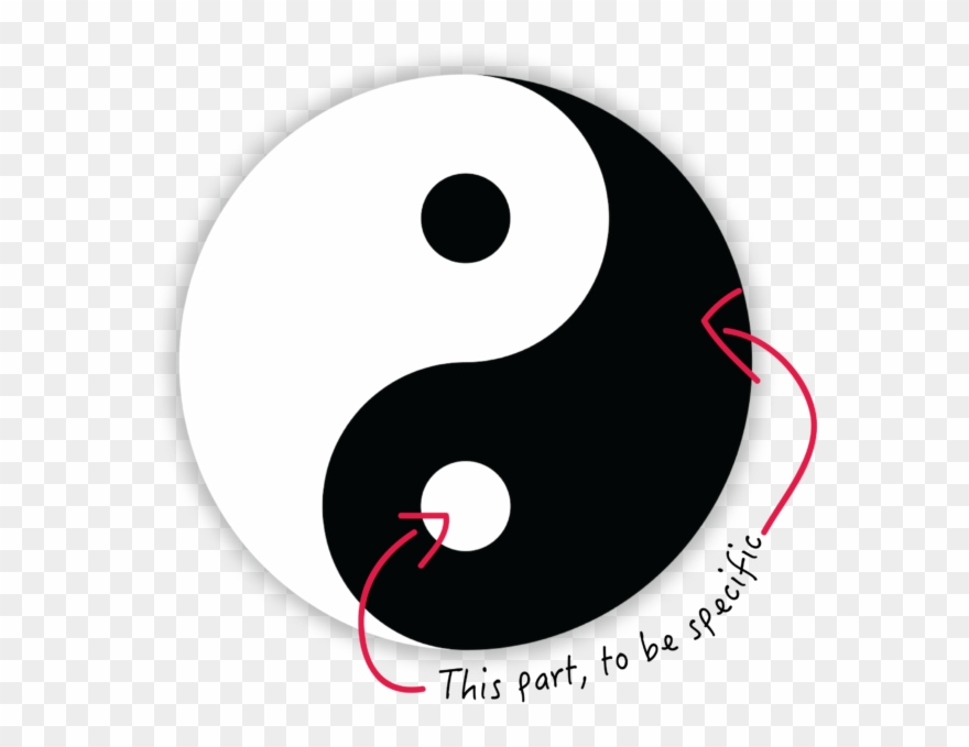 """Light and darkness clipart banner freeuse Yes, Yin Is Part Of The Famous Yinyang (think """"in Jahng ... banner freeuse"""