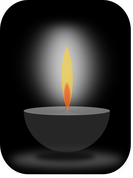 Light and darkness clipart vector freeuse download Candle Light Clip Art at Clker.com - vector clip art online ... vector freeuse download