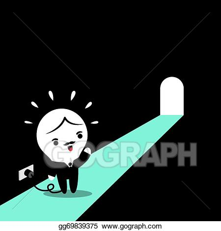 Light at the end of the tunnel clipart graphic royalty free Clip Art Vector - Light at the end of the tunnel. Stock EPS ... graphic royalty free