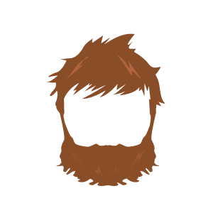 Light beard clipart picture royalty free stock Light brown hair boy clipart images gallery for free download ... picture royalty free stock