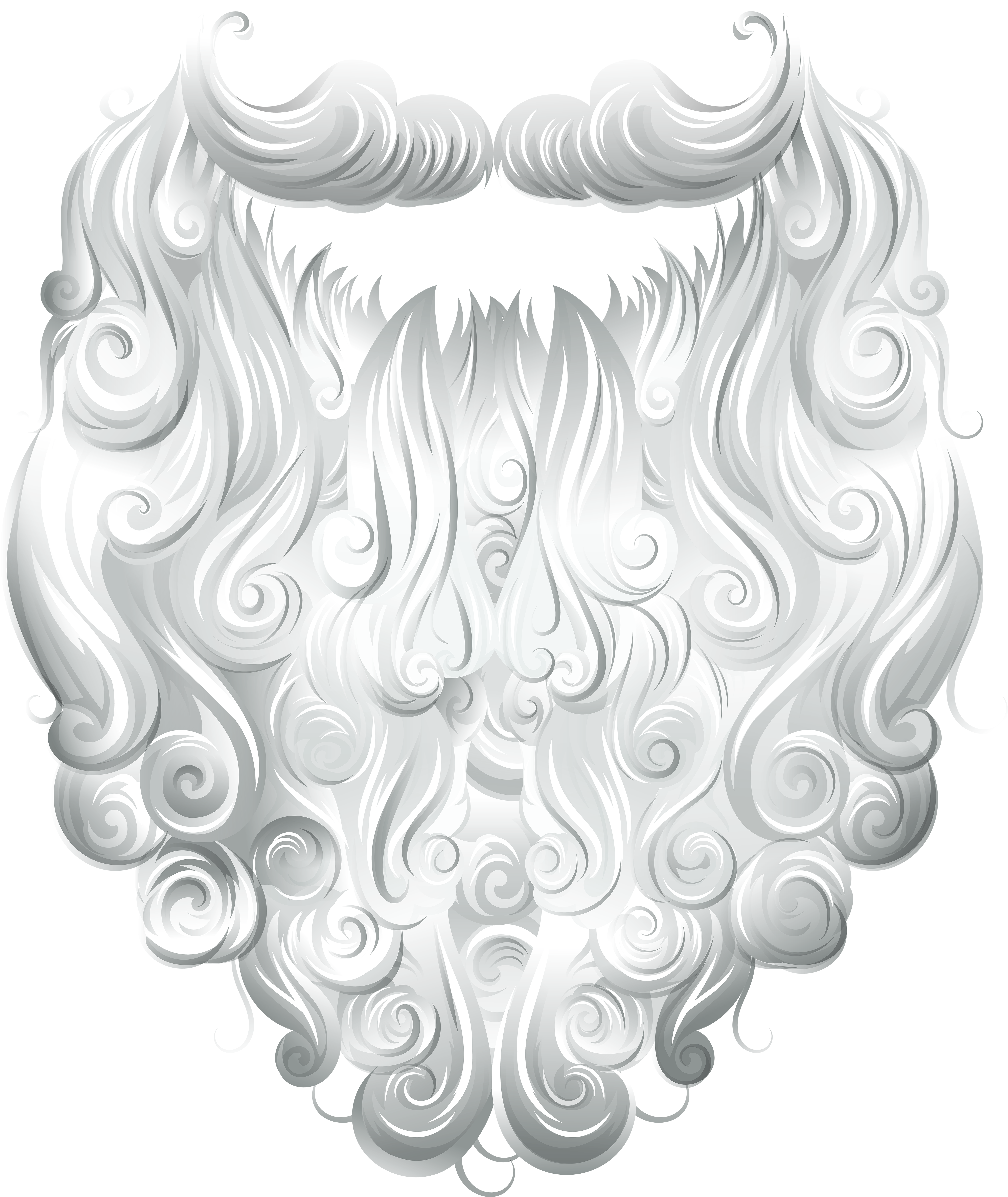 Light beard clipart banner royalty free stock Beard Clipart Santa Claus - Clip Art Library banner royalty free stock