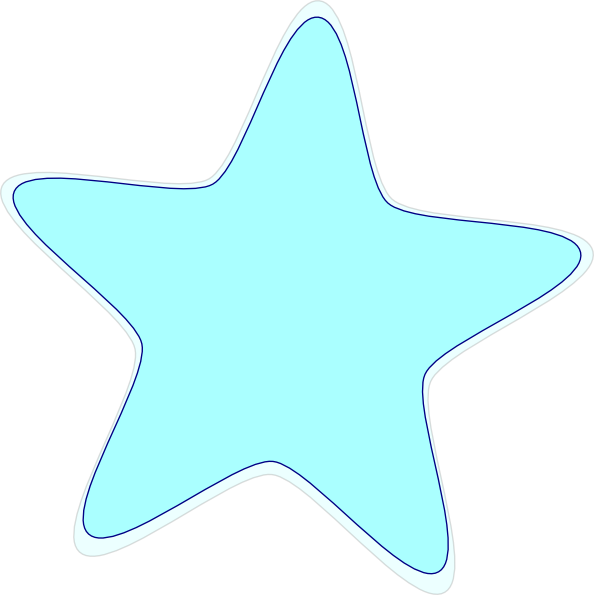 Light blue star clipart picture royalty free download Light Blue Star Clip Art at Clker.com - vector clip art online ... picture royalty free download