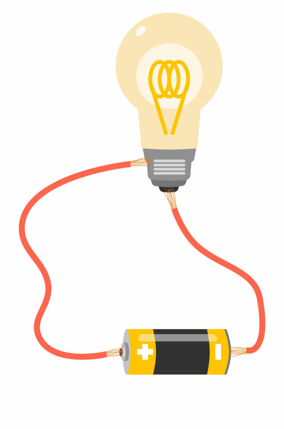Light bulb battery clipart vector free download Mit Graduates Struggle To Light A Bulb With A Battery - Light Bulb ... vector free download