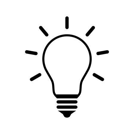 White lightbulb clipart jpg black and white download Lightbulb black and white clipart 2 » Clipart Portal jpg black and white download