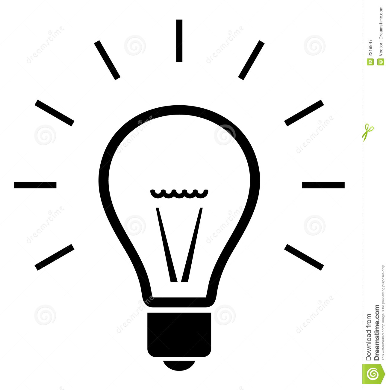 White lightbulb clipart graphic free library Light Bulb Clipart Black And White | Free download best Light Bulb ... graphic free library