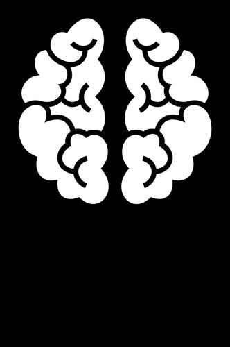 Light bulb brain clipart black and white vector black and white download Brain light bulb | Public domain vectors vector black and white download