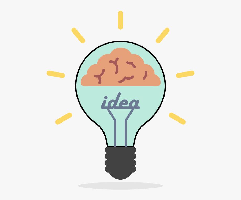 Light bulb brain clipart black and white clip free download Lightbulb Brain Clipart - Incandescent Light Bulb, Cliparts ... clip free download