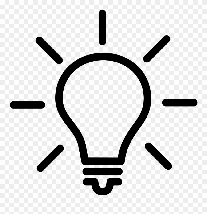 Light bulb brain clipart black and white vector transparent download Lightbulb Clipart Eureka Moment - Light Bulb With Brain - Png ... vector transparent download