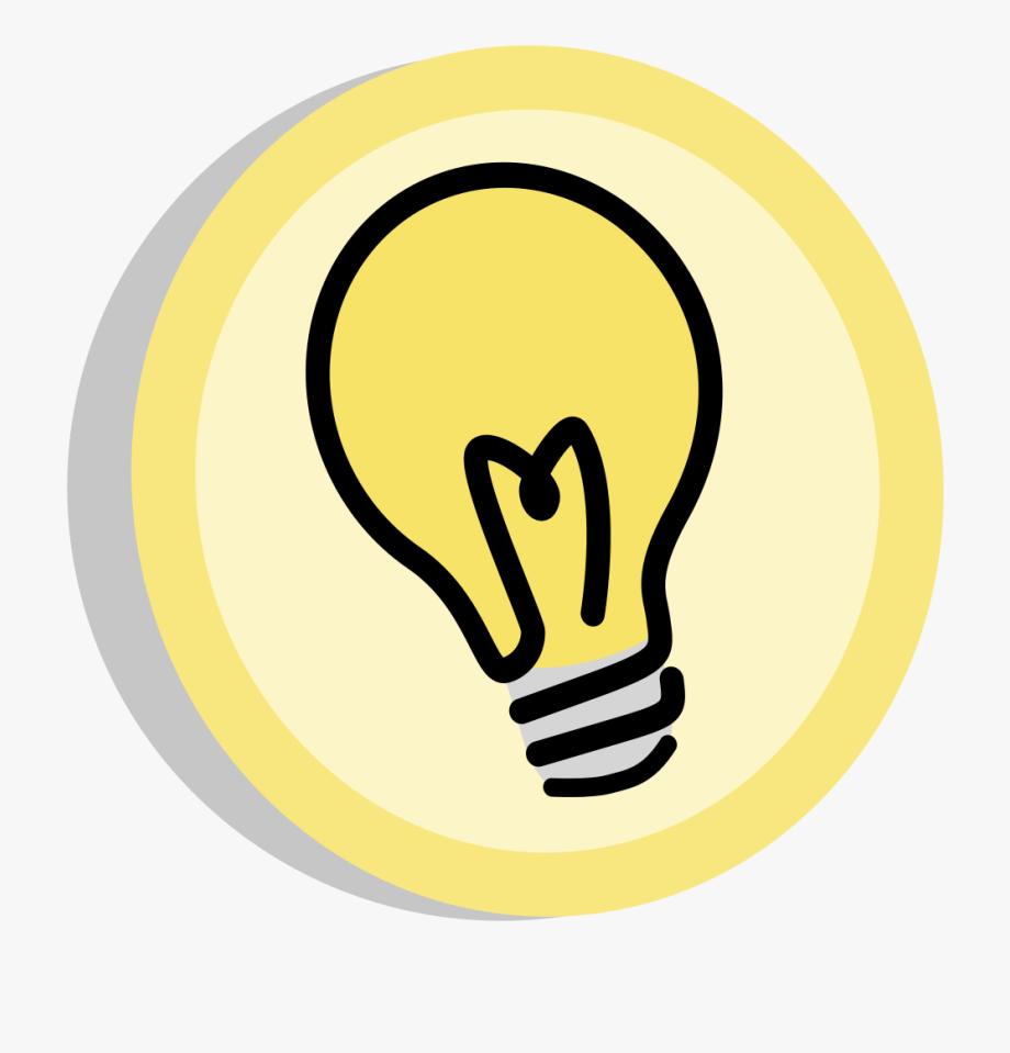 Light bulb thinking clipart vector free stock Light Bulb Clipart Critical Thinking - Lightbulb Symbol #107122 ... vector free stock
