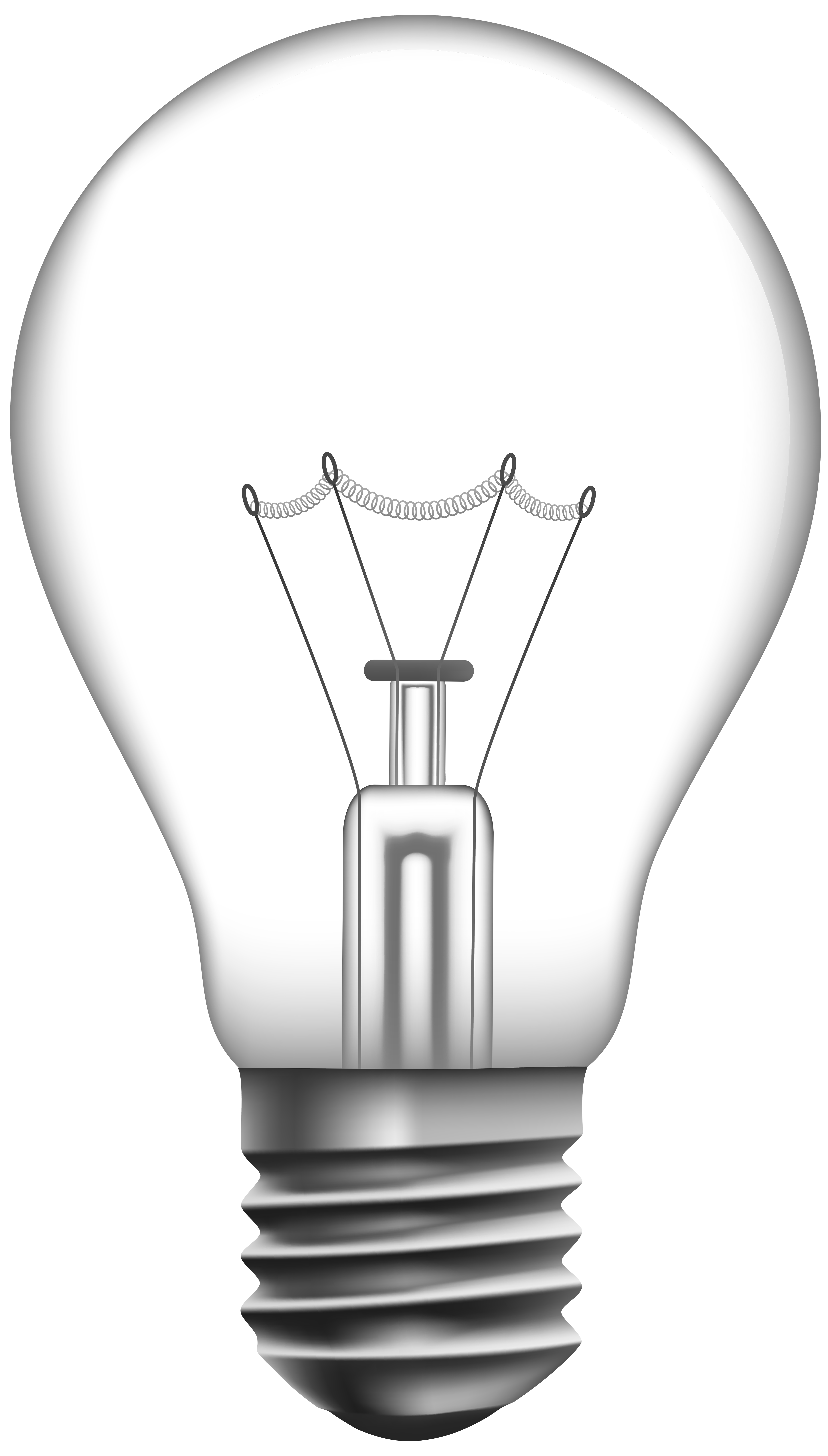 Light bulb with heart clipart vector stock Transparent Light Bulb PNG Clip Art - Best WEB Clipart vector stock
