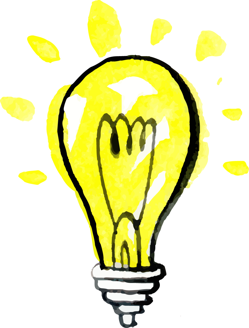 Light bulb with heart clipart clip art transparent library Incandescent light bulb Drawing Computer file - Hand-painted cartoon ... clip art transparent library