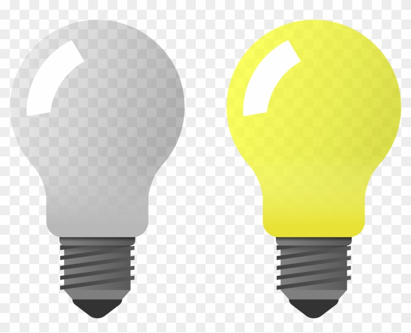 Light on off clipart picture freeuse stock Bulb Clipart Lamp Pencil And In Color Bulb Clipart - Light Bulb On ... picture freeuse stock
