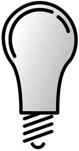 Light on off clipart graphic royalty free library 909 light bulb clip art image free | Public domain vectors graphic royalty free library