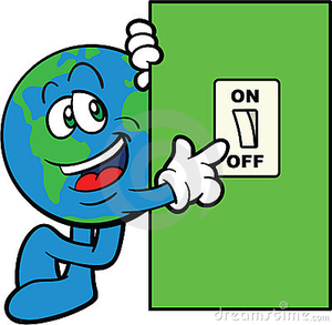 Lights out clipart