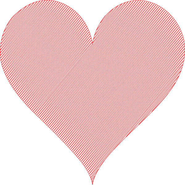 Shaded heart clipart png royalty free library Heart 42 Clip Art at Clker.com - vector clip art online, royalty ... png royalty free library