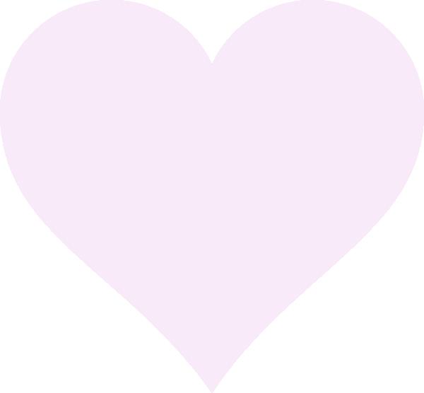 Light pink heart clipart clip art royalty free stock Light Pink Heart Clip Art at Clker.com - vector clip art online ... clip art royalty free stock