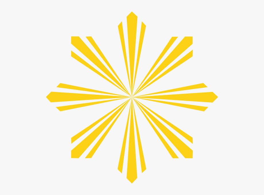 Light shine clipart png freeuse Rays Of Light Clip Art Sun Shine - Filipino Flag Sun Rays #632156 ... png freeuse