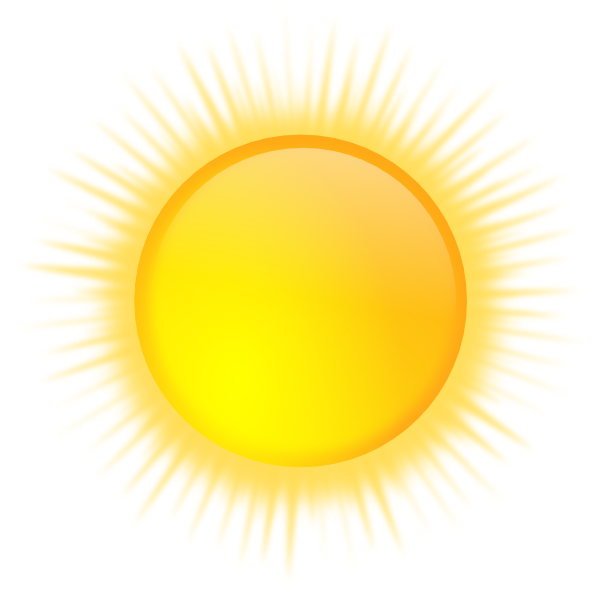 Light sun clipart clip royalty free library Sun Icon Clipart Png - 5490 - TransparentPNG clip royalty free library