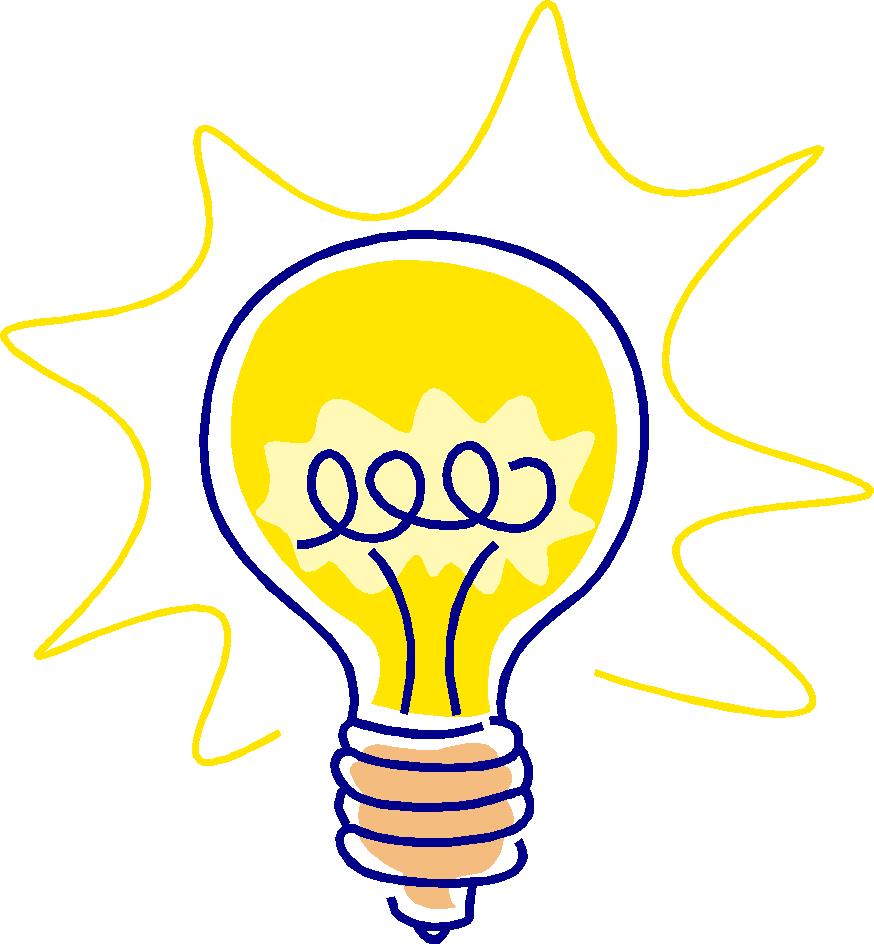 Lightbulb idea clipart vector royalty free Thinking Light Bulb Lightbulb Idea Best clipart free image vector royalty free