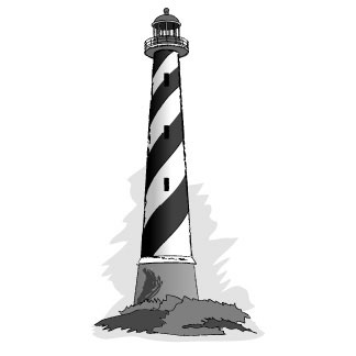 Lighthouse clipart black and white image black and white download Free Free Lighthouse Clipart, Download Free Clip Art, Free Clip Art ... image black and white download