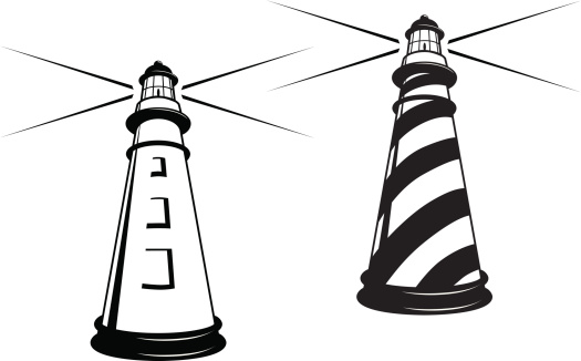 Lighthouse clipart black and white image royalty free Lighthouse clipart black and white 5 » Clipart Station image royalty free
