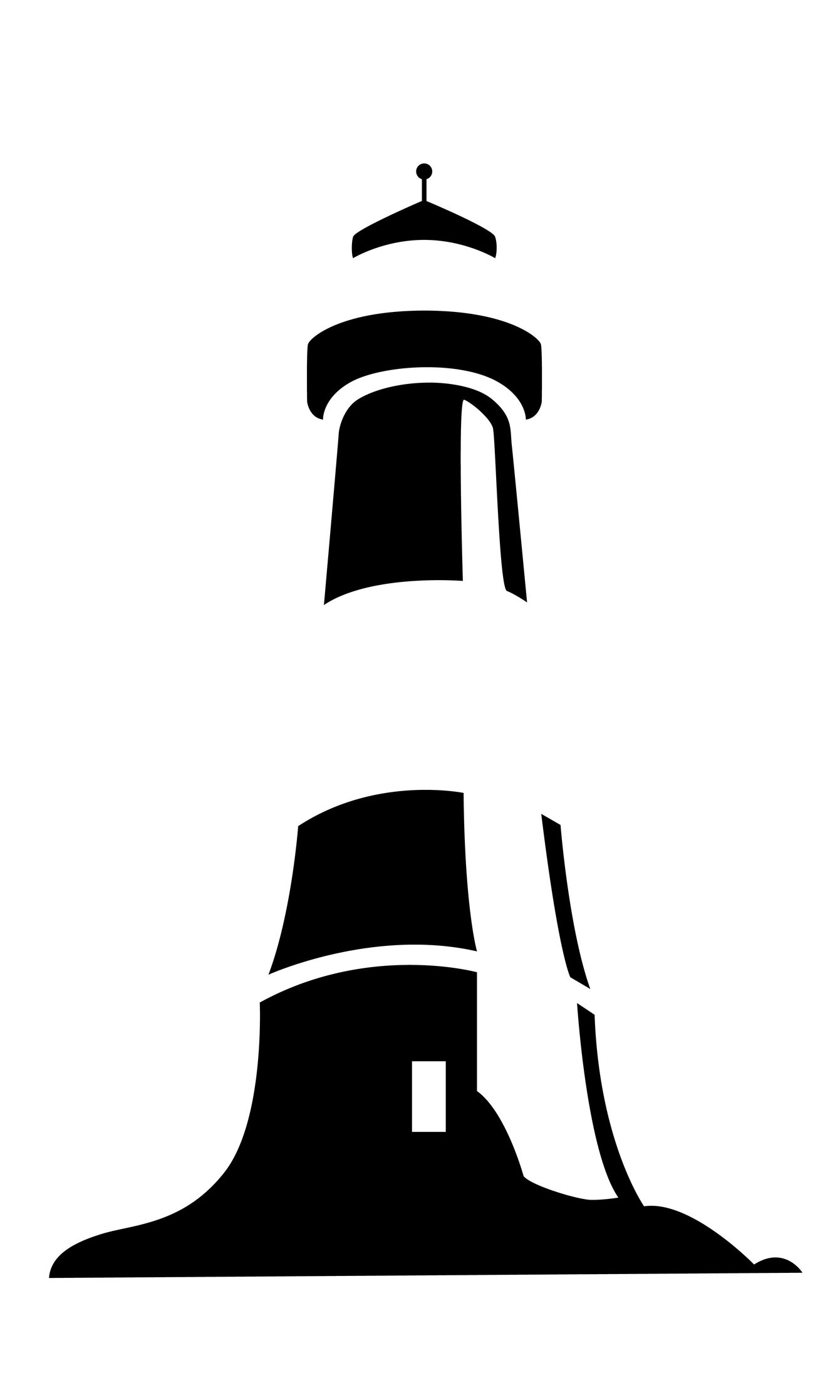 Lighthouse clipart black and white image stock Lighthouse tattoo black and white | Lighthouses. | Lighthouse tattoo ... image stock