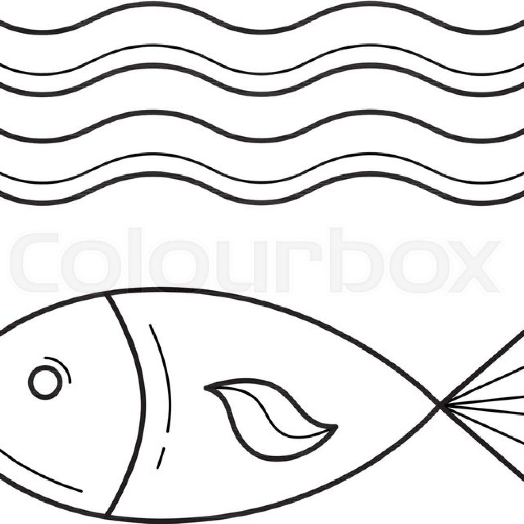 Lighthouse with waves clipart black and white png transparent stock Sea Waves Drawing | Free download best Sea Waves Drawing on ... png transparent stock