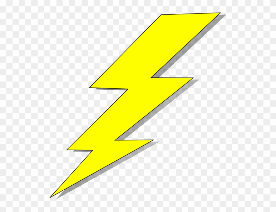 Yellow lightning clipart image free library Yellow Pinterest And Clip Art - Lightning Bolt Clipart Png ... image free library