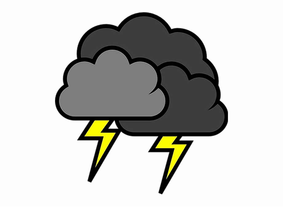 Lightnight clipart clipart freeuse download lightning #stormy #weather #storms #clouds #blackclouds - Thunder ... clipart freeuse download