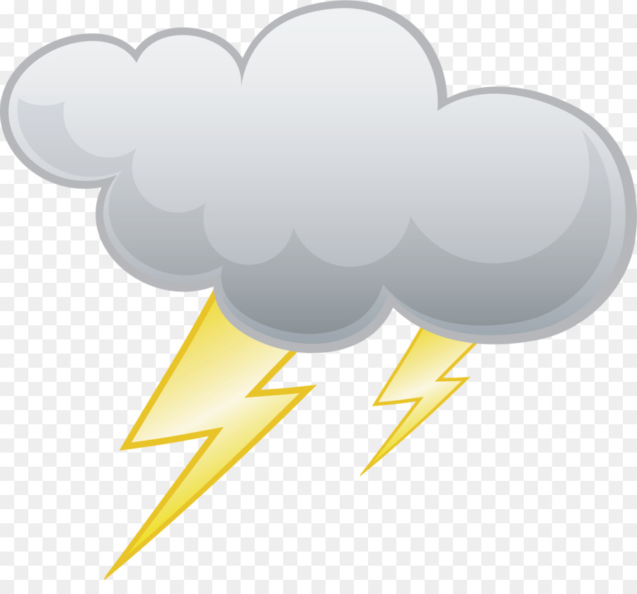 Lightning and thunder clipart image library library Rain Cloud Clipart png download - 2347*2142 - Free Transparent ... image library library