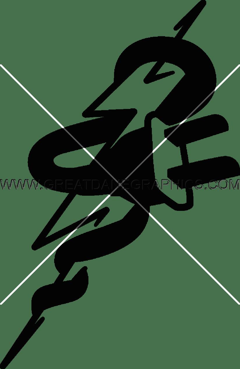 Lightning bolt football clipart vector black and white download Lightning Bolt Plug | Production Ready Artwork for T-Shirt Printing vector black and white download