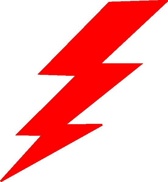 Lightning bolt football clipart jpg library stock Red Lightning Clipart & Red Lightning Clip Art Images #1451 - OnClipart jpg library stock