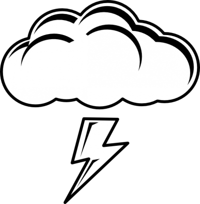 Lightning clipart black and white banner free Lightning clipart black and white clipart images gallery for free ... banner free