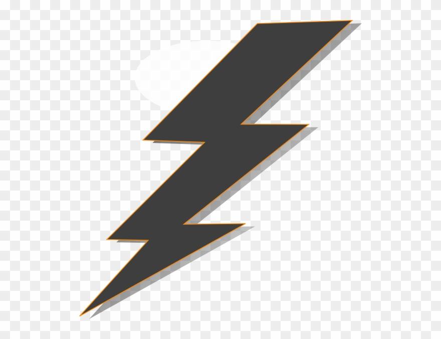 Lightning clipart transparent background svg freeuse download Transparent Background Lightning Clipart - Png Download (#553110 ... svg freeuse download
