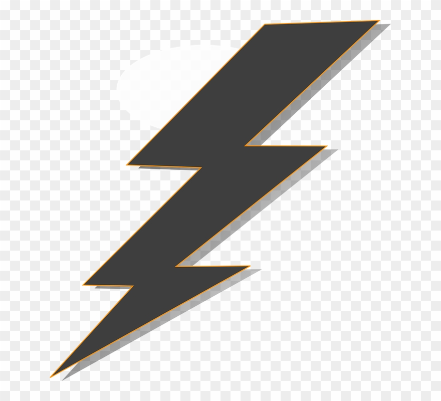 Lightning clipart transparent background svg library download Thunder Clipart Real - Transparent Background Lightning Clipart ... svg library download