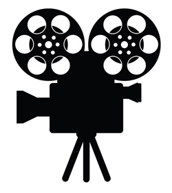 Lights camera action clipart black and white clipart freeuse download Lights Camera Action Clip Art & Look At Clip Art Images - ClipartLook clipart freeuse download