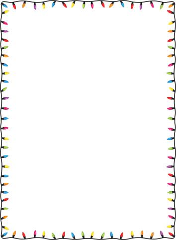 Lights clipart border vector free stock 27+ Christmas Lights Clipart Border   ClipartLook vector free stock