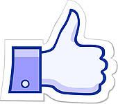 Like facebook clipart royalty free Fb like clipart - ClipartFest royalty free