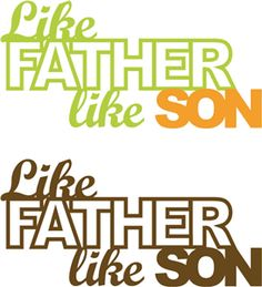 Like father like son clipart image library stock Like father like son clipart - ClipartFest image library stock