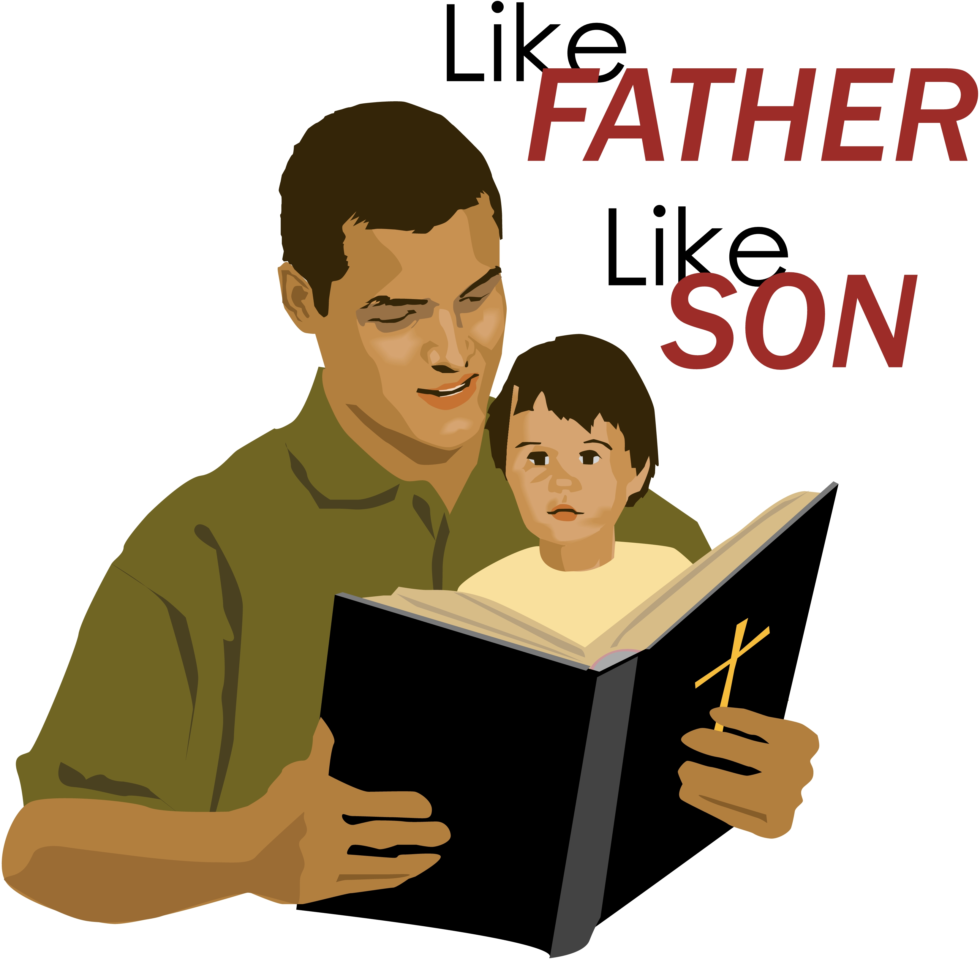 Like father like son clipart banner free download Like father like son clipart - ClipartFest banner free download