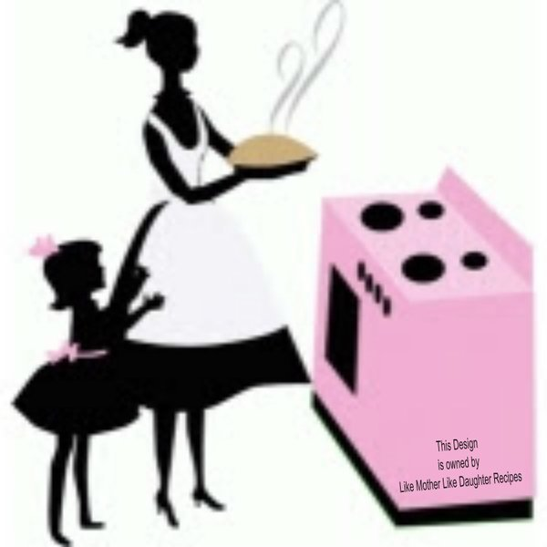 Like mother like daughter clipart png stock Like Mother Like Daughter Recipes png stock