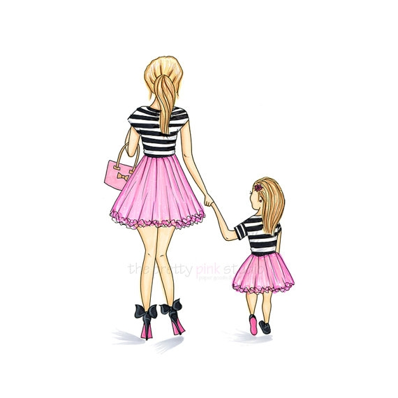 Like mother like daughter clipart banner transparent download Like Mother Like Daughter Clipart - clipartsgram.com banner transparent download