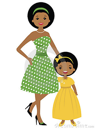 Like mother like daughter clipart image black and white library Mother and daughter clipart black and white - ClipartFox image black and white library