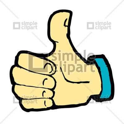 Like sign clipart vector library download Cartoon hand showing Like sign - thumb up Vector Image #21602 ... vector library download