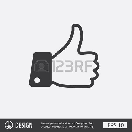 Like sign clipart black and white library 43,598 Like Symbol Stock Vector Illustration And Royalty Free Like ... black and white library