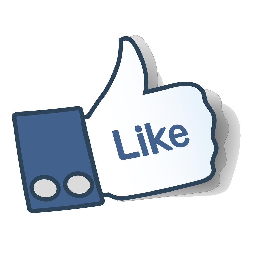 Like us on facebook clip art vector transparent Like Us On Facebook | Nissan/UD & Renault Truck Spare Parts vector transparent