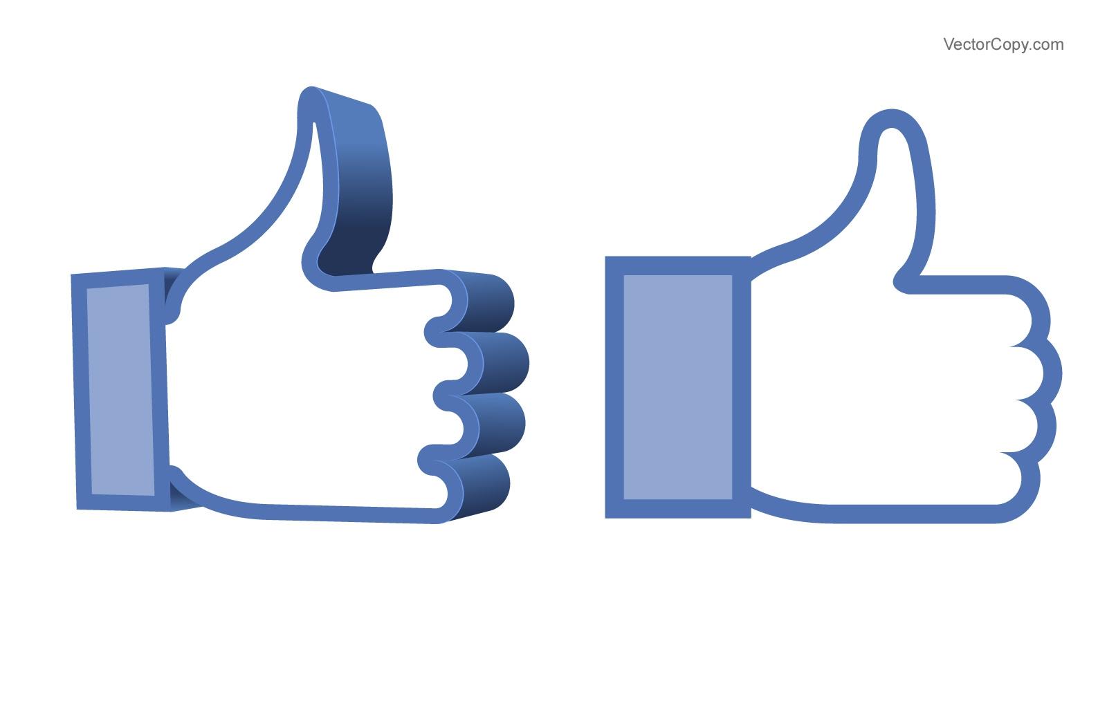 Like us on facebook clip art vector transparent stock Like Us On Facebook Clipart#2136700 vector transparent stock