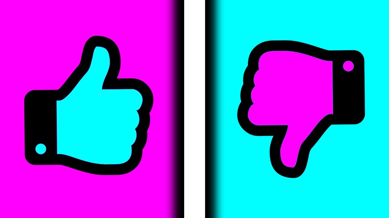 Likes and dislikes clipart picture transparent stock CAN THIS VIDEO GET MORE LIKES OR DISLIKES? picture transparent stock