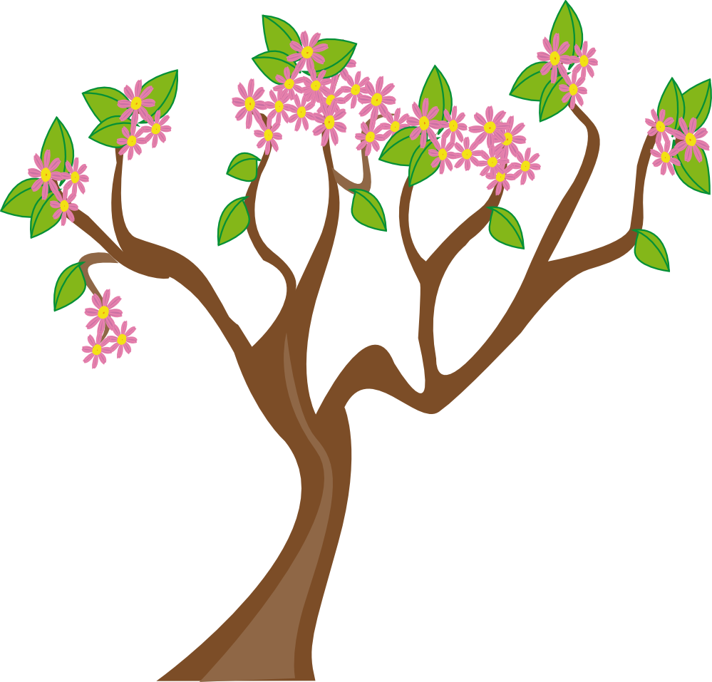 Lilac tree clipart picture royalty free stock Cherry Blossom Tree Clipart at GetDrawings.com | Free for personal ... picture royalty free stock