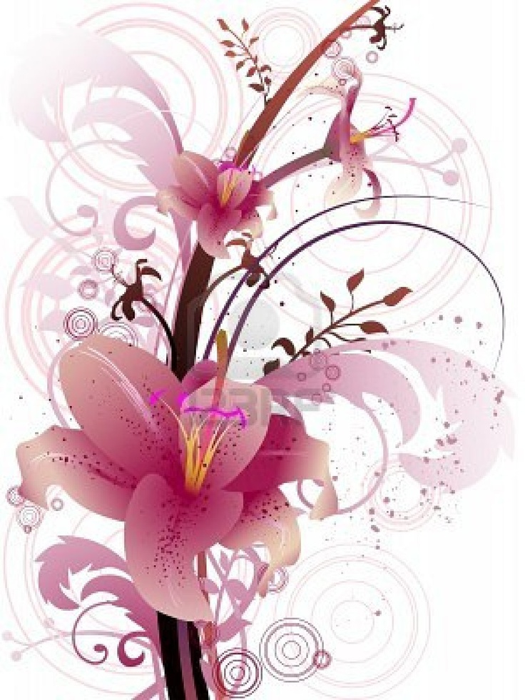 Lily graphics png transparent 17 Best images about All things Stargazer Lilies on Pinterest ... png transparent
